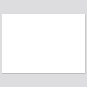 Okayest Dad Universe 5x7 Flat Cards