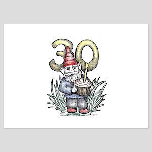 30th Birthday Gnome Invitations