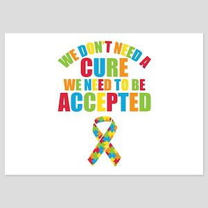 Autism Acceptance 5x7 Flat Cards