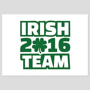 Irish team 2016 5x7 Flat Cards