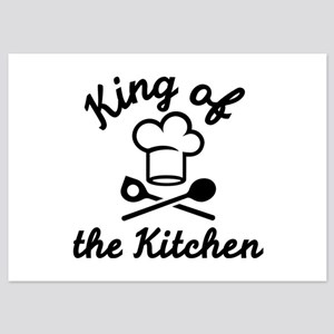 King of the kitchen 5x7 Flat Cards
