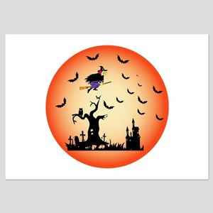 Halloween Party 5x7 Flat Cards