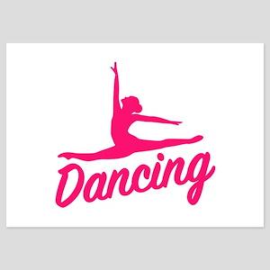 Dancing 5x7 Flat Cards