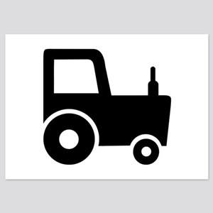 Tractor farmer 5x7 Flat Cards
