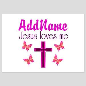 JESUS LOVES ME 5x7 Flat Cards