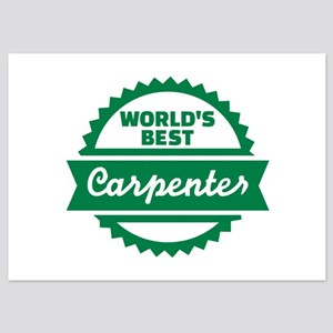 World's best Carpenter 5x7 Flat Cards
