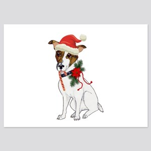 Jack Russell Christmas Invitations