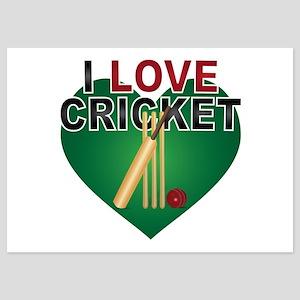 Love Cricket 5x7 Flat Cards