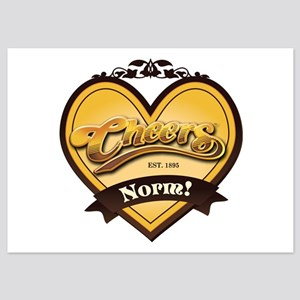Cheers Norm 5x7 Flat Cards