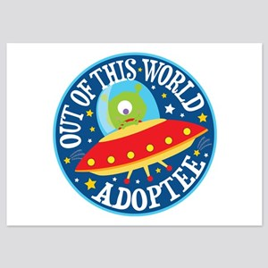 Adoptee Alien 5x7 Flat Cards