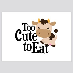 Vegan Cow 5x7 Flat Cards
