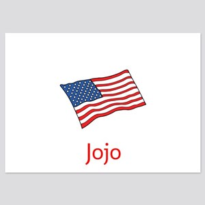 Old Glory Personalized July 4 Pop Invitations