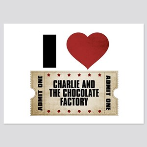 I Heart Charlie and the Chocolate Factory Ticket 5