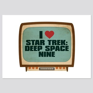Retro I Heart Star Trek: Deep Space Nine 5x7 Flat