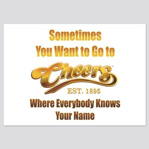 Cheers 5x7 Flat Cards