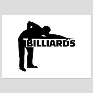 Billiards 5x7 Flat Cards