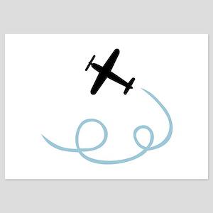 Plane aviation 5x7 Flat Cards