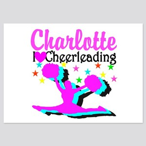 CHEER 4EVER 5x7 Flat Cards