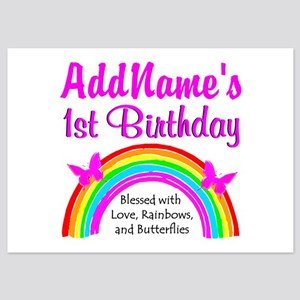 BLESSED 1 YR OLD 5x7 Flat Cards