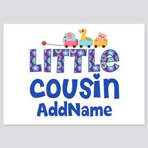 Personalized Little Cousin 5x7 Flat Cards