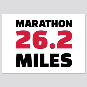 Marathon 26 miles 5x7 Flat Cards