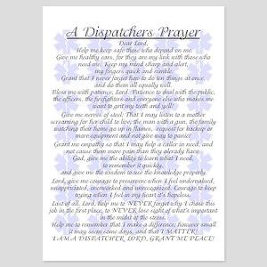 DISPATCHERS PRAYER 5x7 Flat Cards