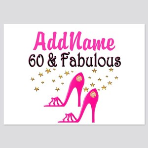60 YR OLD SHOE QUEEN 5x7 Flat Cards
