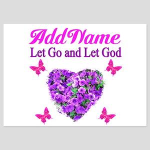 LET GO LET GOD 5x7 Flat Cards