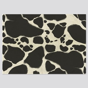 Faux Holstein Cowhide Pattern Invitations