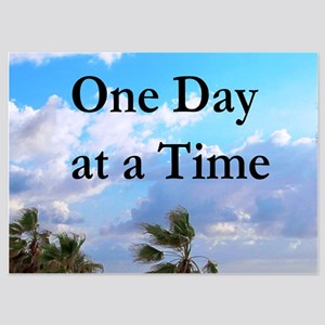 ONE DAY AT A TIME 5x7 Flat Cards