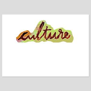 Culture 5x7 Flat Cards