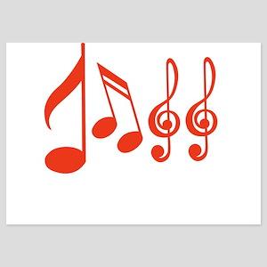Jazz (Musical Notation) 5x7 Flat Cards