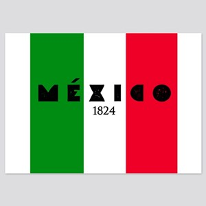 Mexico 1824 5x7 Flat Cards