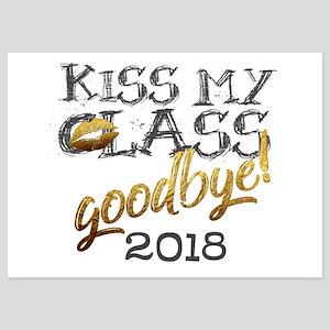 Personalized Funny Grad Kiss my CLASS goodbye 201