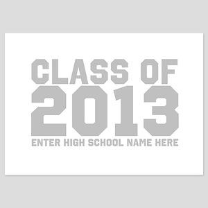 2013 Graduation 5x7 Flat Cards