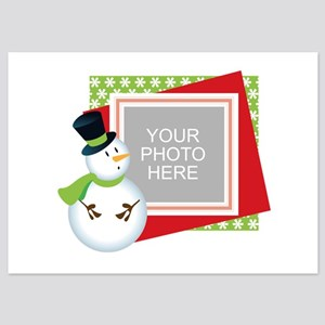 Personalized Christmas 5x7 Flat Cards