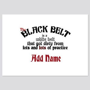 The Black Belt is 5x7 Flat Cards