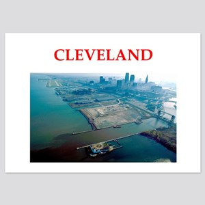 cleveland 5x7 Flat Cards