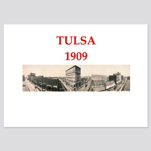 tulsa 5x7 Flat Cards