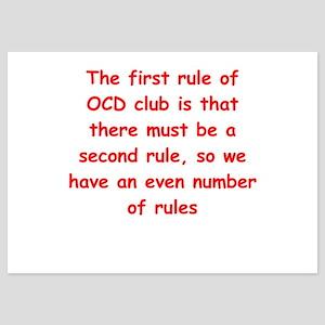 ocd 5x7 Flat Cards