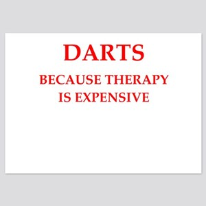 darts 5x7 Flat Cards