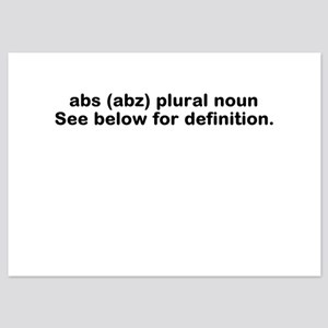 Abs definition Flat Cards
