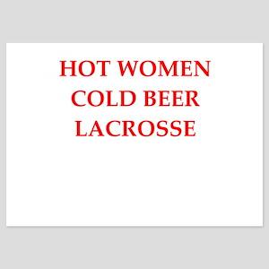 lacrosse 5x7 Flat Cards
