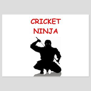 cricket 5x7 Flat Cards