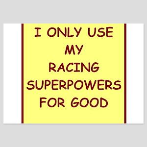racing 5x7 Flat Cards