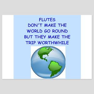 flutes 5x7 Flat Cards