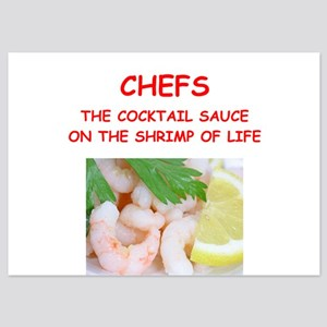 chef 5x7 Flat Cards