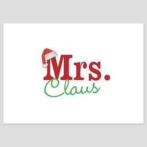 Christmas Mrs personalizable Invitations