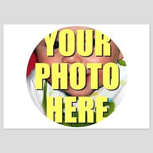 Personalized Circular Image Invitations