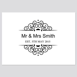 Custom Couples Name and wedding date Invitations